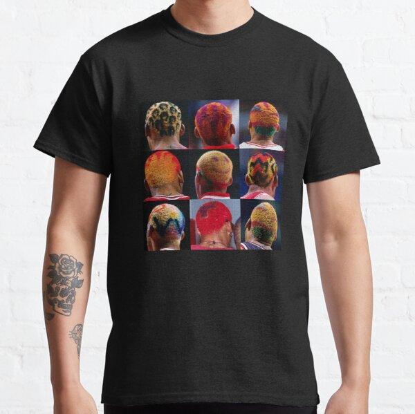 Dennis colorido Camiseta clásica