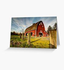 Tolt-MacDonald Barn Greeting Card