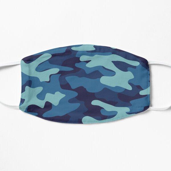 Blue Camouflage Mask
