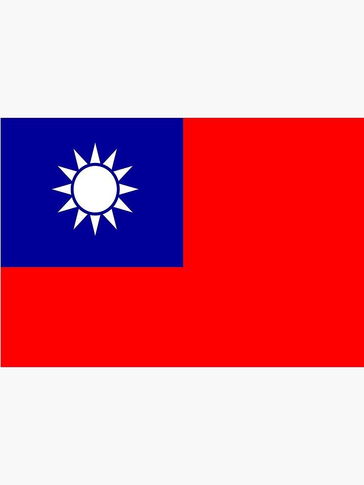 Taiwan flag Taiwan by flagshop