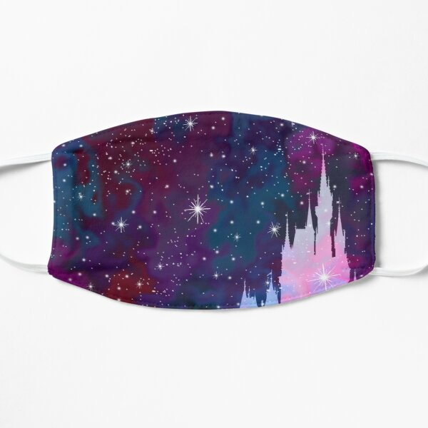 Magic Castle Silhouette Space Flat Mask
