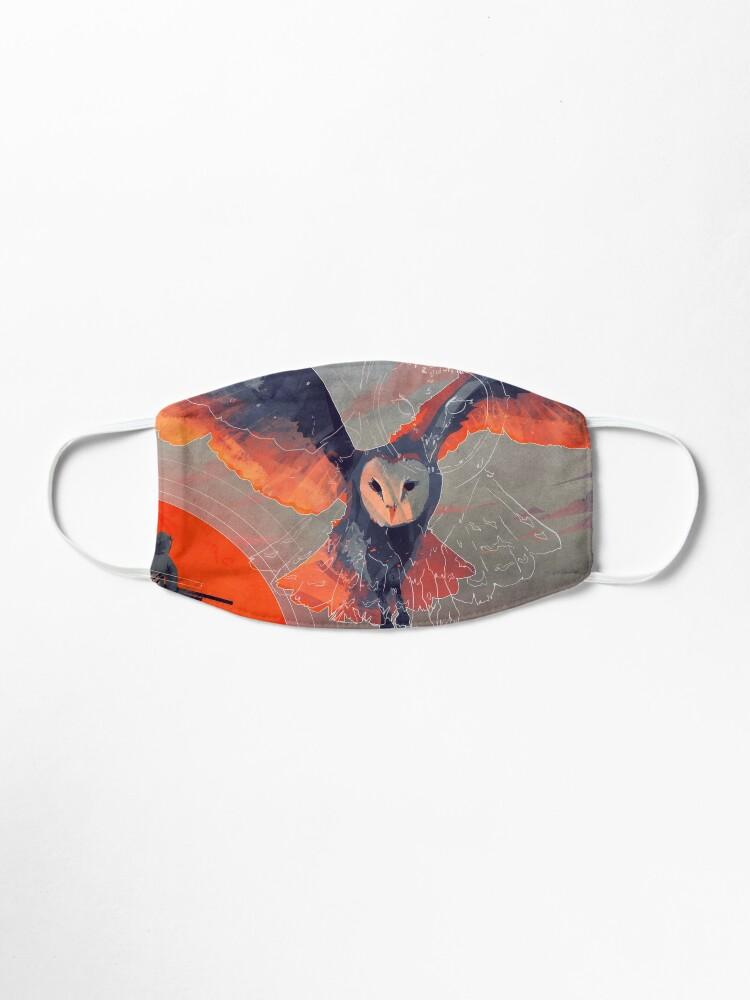 Alternate view of Owl Hunt Mask