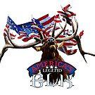 America's Legend Elk by corsetti
