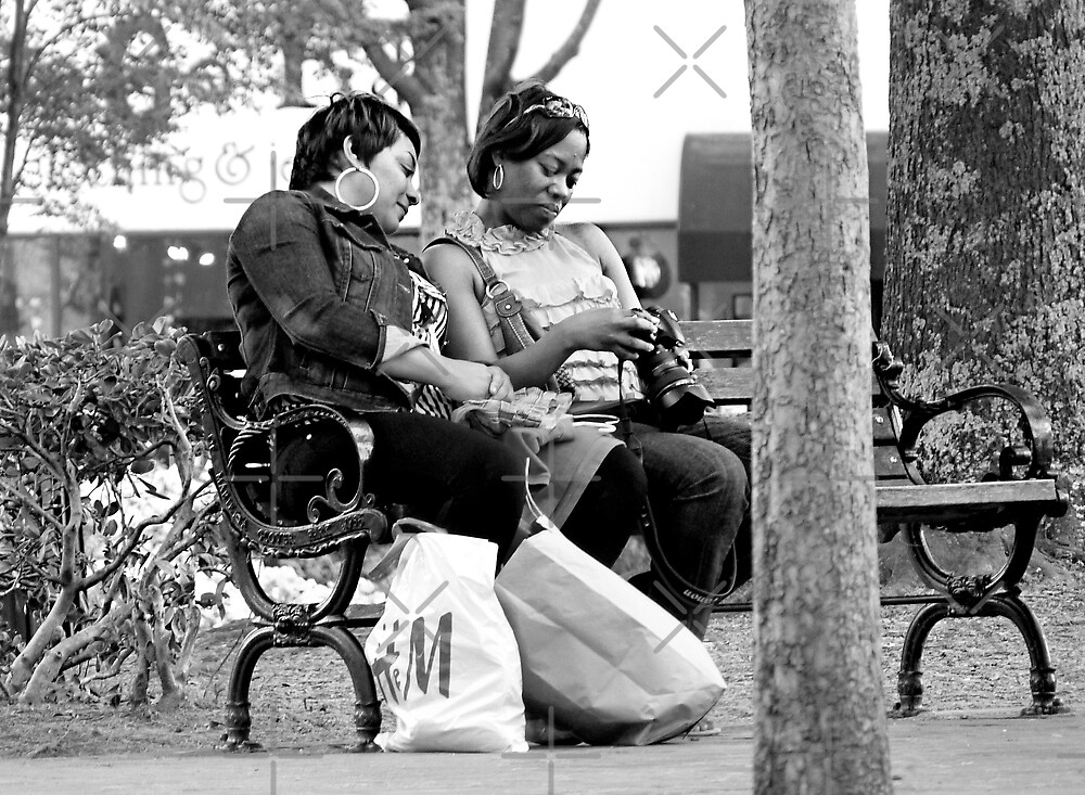They sat on the bench together, looking at their lives by Scott Mitchell