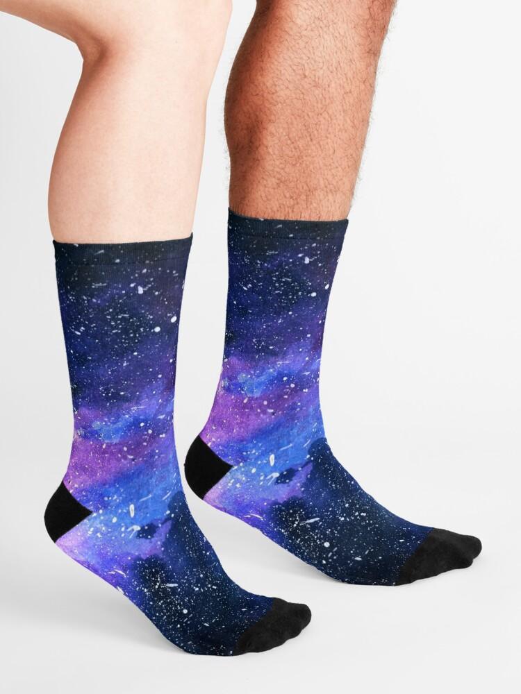 Alternate view of Galaxy Socks