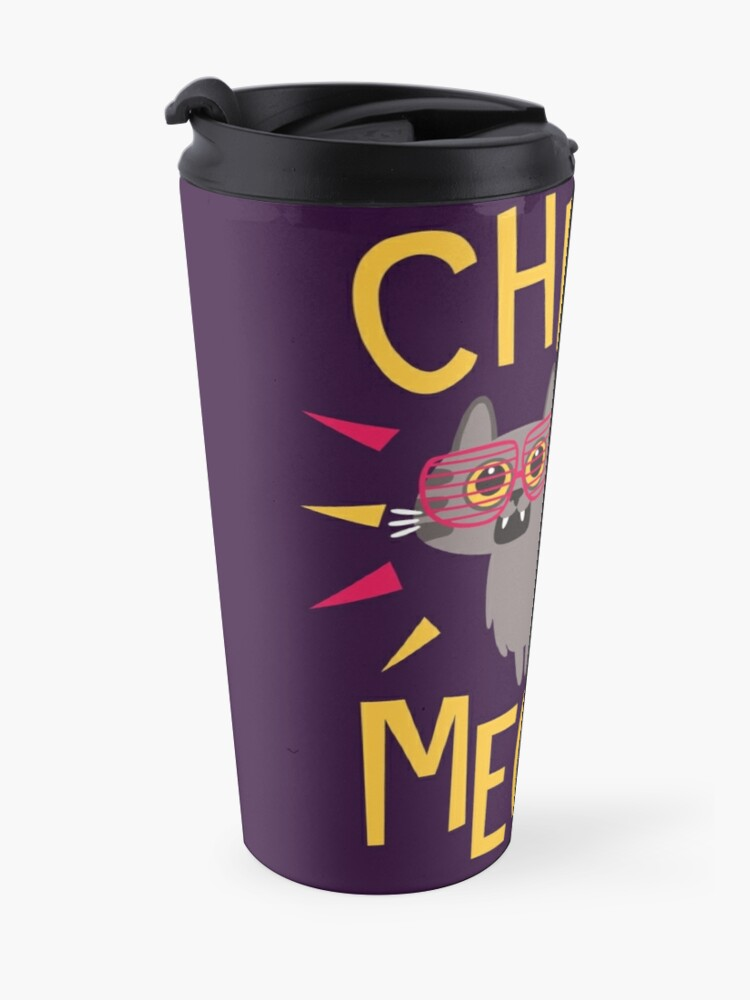 Alternate view of Check Meowt Travel Mug