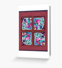 Four Corners Collective Collage Greeting Card