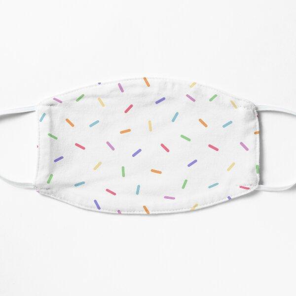 Rainbow Candy Sprinkles Flat Mask