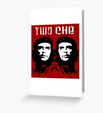 2 Che Greeting Card