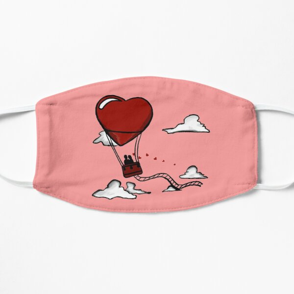Herz Heißluftballon Maske