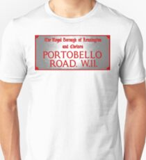 Portobello Road Sign T-Shirt