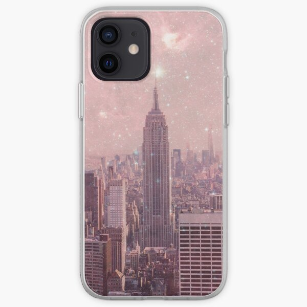 Stardust Covering New York iPhone Soft Case