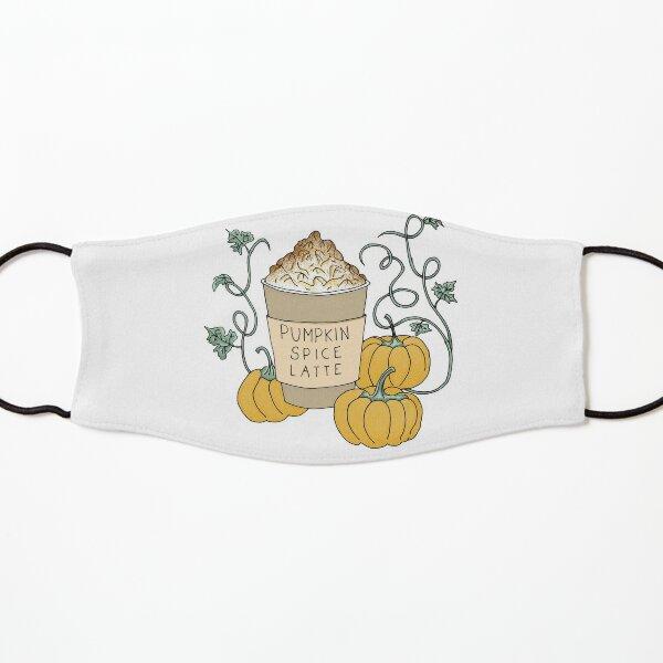 Pumpkin Spice Latte Drink Kids Mask