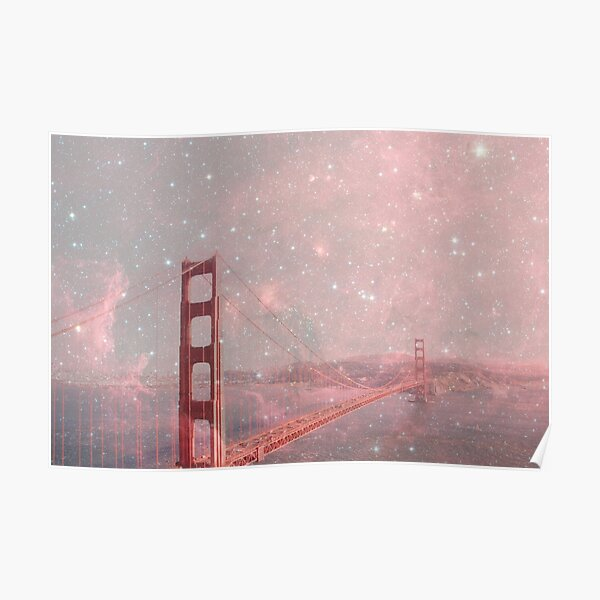 Stardust Covering San Francisco Poster