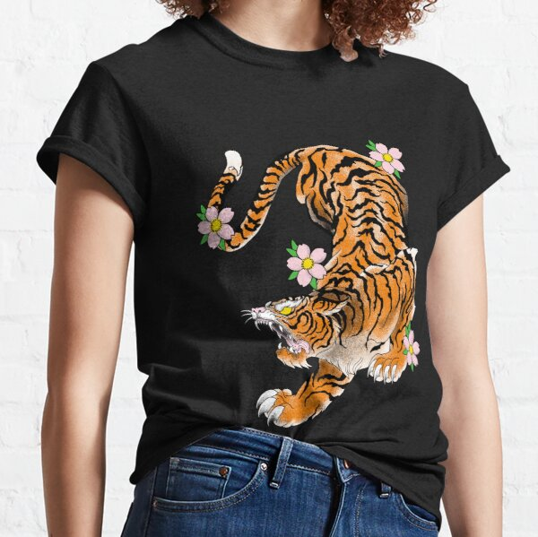 tiger japan old school Classic T-Shirt
