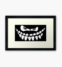 Dark Smile Framed Print