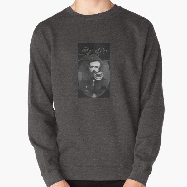 The glitch of Edgar Allan Poe Pullover Sweatshirt