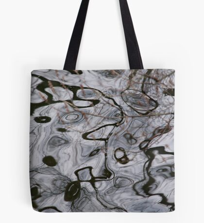 The Maze of Time and Trees Tote Bag