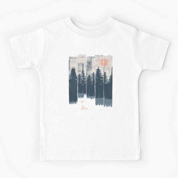 Un zorro en estado salvaje ... Camiseta para niños