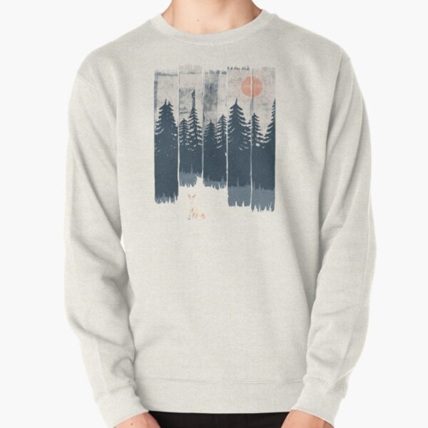 A Fox in the Wild... Pullover Sweatshirt
