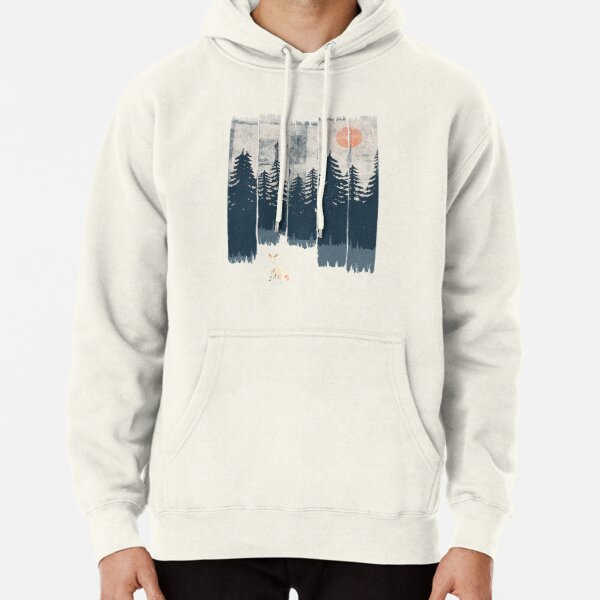 A Fox in the Wild... Pullover Hoodie