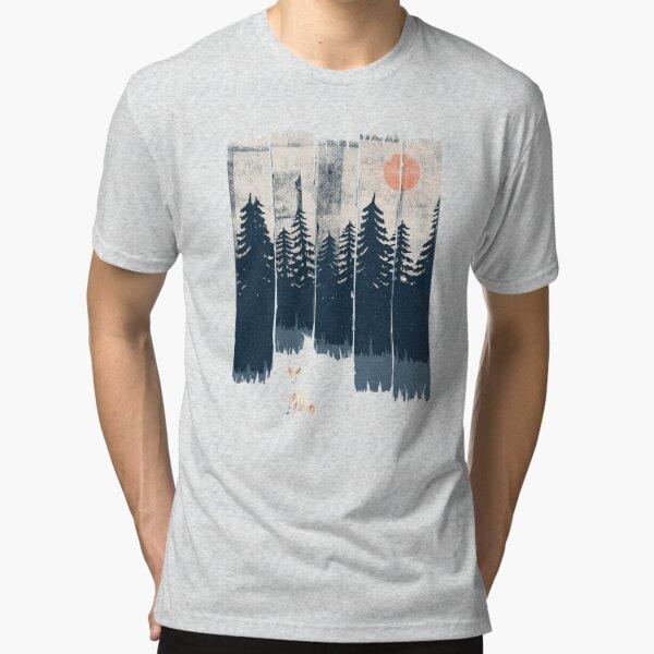 A Fox in the Wild... Tri-blend T-Shirt