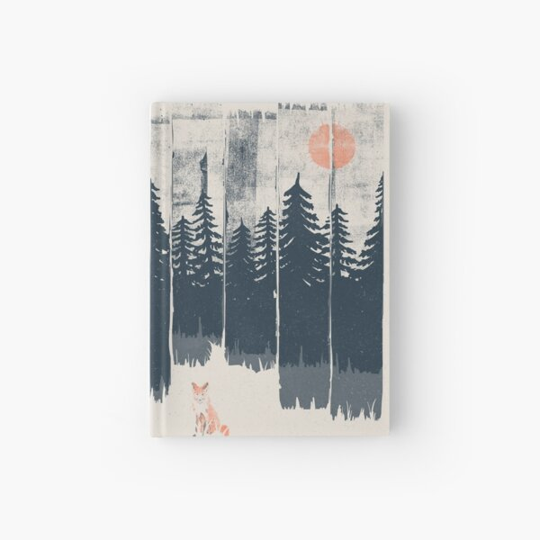 A Fox in the Wild... Hardcover Journal