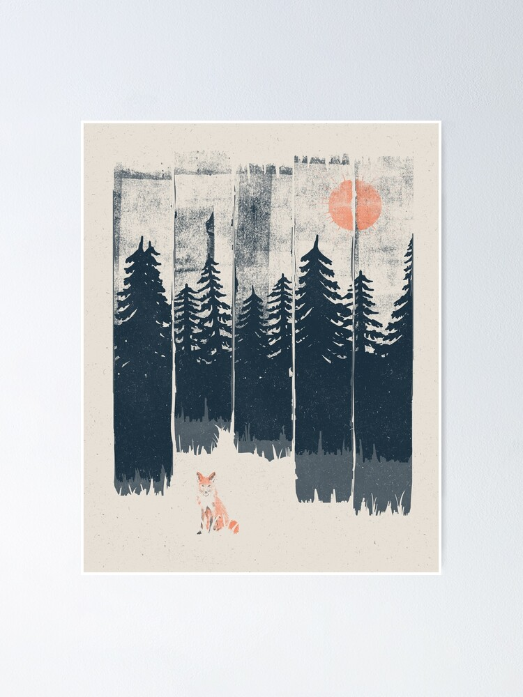Alternate view of A Fox in the Wild... Poster