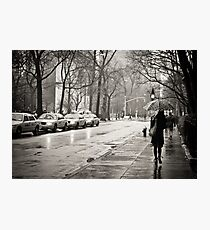 Rainy Day - Greenwich Village - New York City  Photographic Print