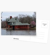 Boathouse at Roger Williams Park Postcards
