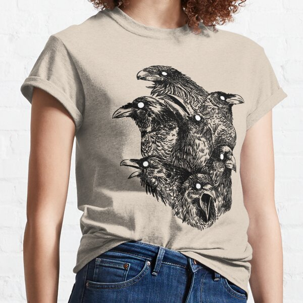 Raven pattern 2 Classic T-Shirt