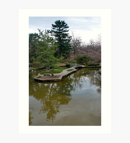 Public Park, Private Garden Art Print