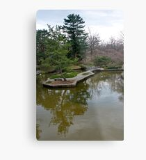 Public Park, Private Garden Metal Print