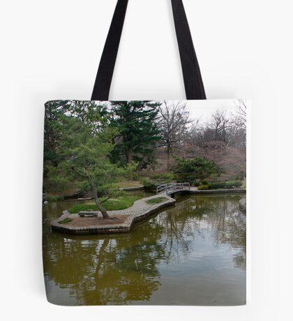 Public Park, Private Garden Tote Bag