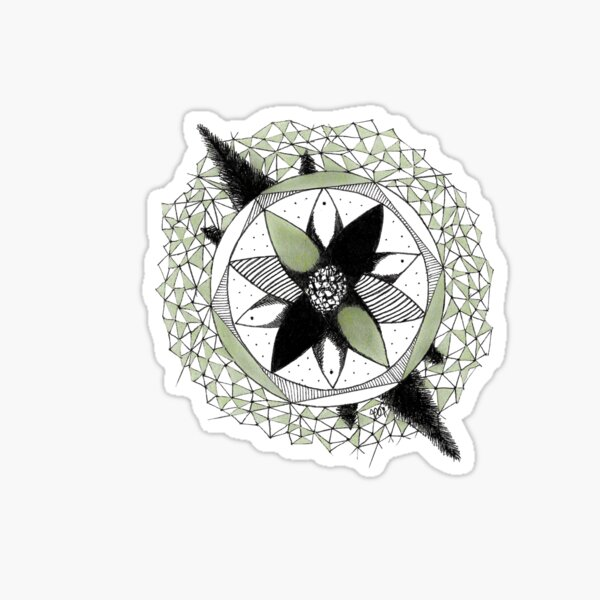 Shinrin-yoku Art - Cones Collection IV Sticker