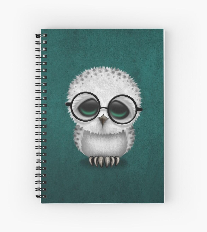 Cuadernos De Espiral 171 Lindo Beb 233 B 250 Ho Nival Con Gafas Azul