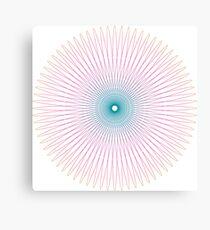 SpiroGraphish  Canvas Print
