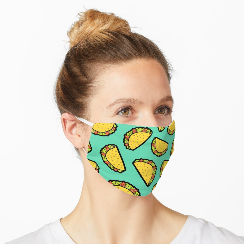 It's Taco Time! Mask