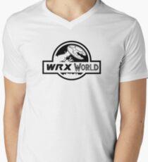 SUBARU WRX WORLD Men's V-Neck T-Shirt