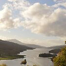 Queen's View, Tummel Loch by Kirsty Auld