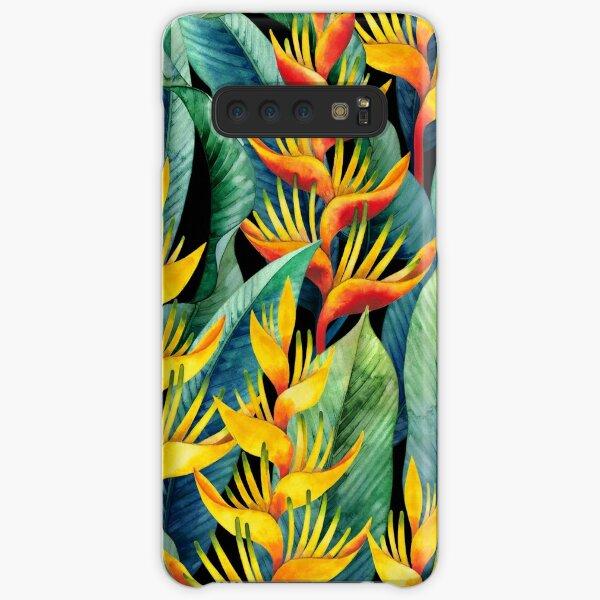 Watercolor heliconia Samsung Galaxy Snap Case