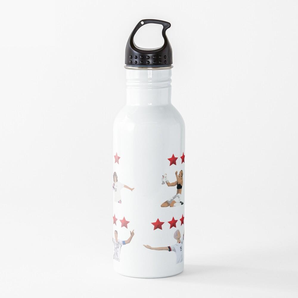 USWNT 4 Stars Water Bottle