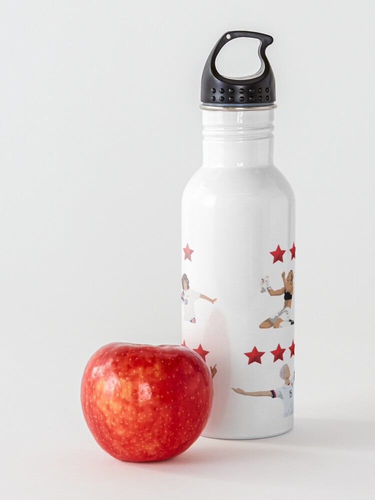Alternate view of USWNT 4 Stars Water Bottle