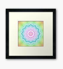 Spiro generated Kaleido Framed Print