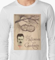 Just Hanging Around (Vintage Halloween Card) T-Shirt