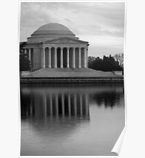 The Jefferson Memorial Poster
