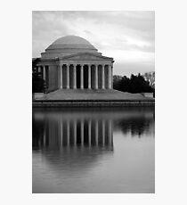 The Jefferson Memorial Photographic Print