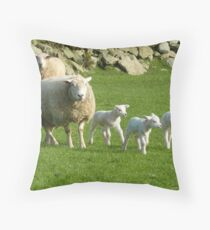 The Noise Of The Lambs Throw Pillow
