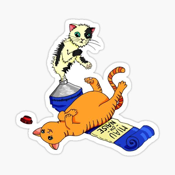 MIAU-OH-NAISE Sticker