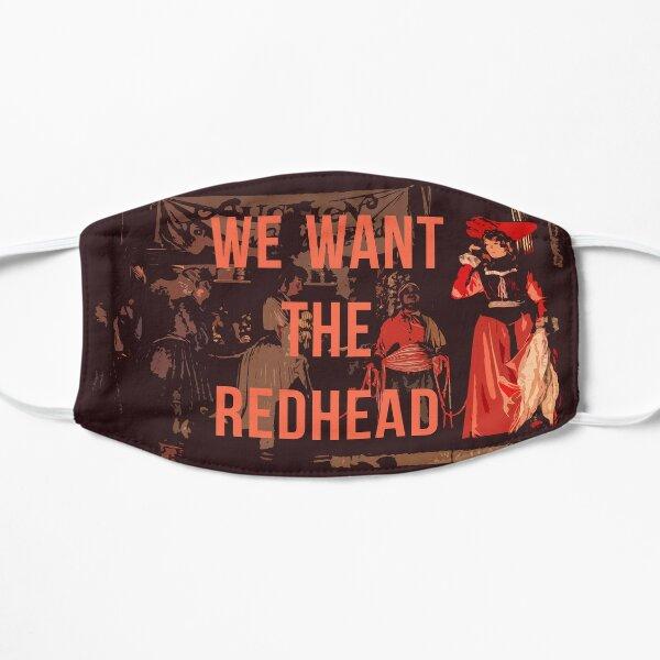 Wir wollen den Rothaarigen! Flache Maske